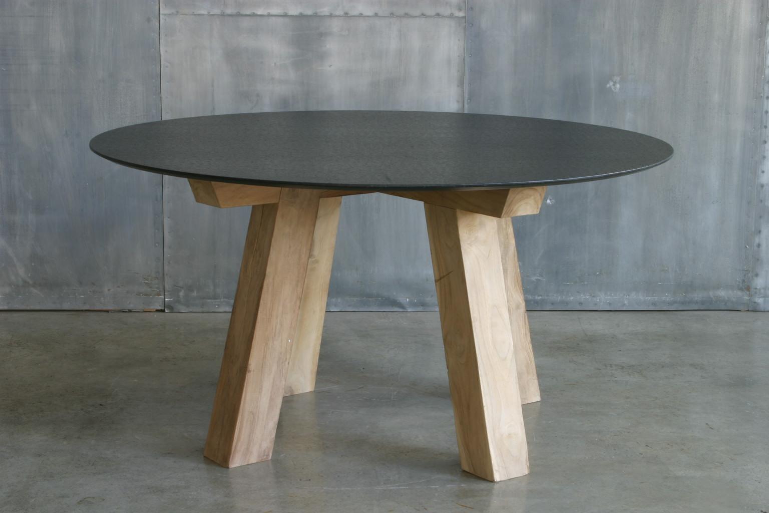Ag84 base mesa madera hierro cat logo concha bay for Bases de mesas cromadas